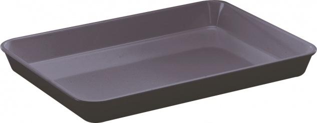 WACA GN Behälter Material Melamin Auslageschale Farbe schwarz