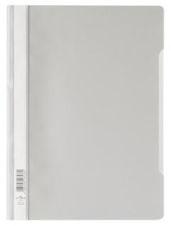 DURABLE Sichthefter mit transparentem Vorderdeckel grau DIN A4 50 Stück