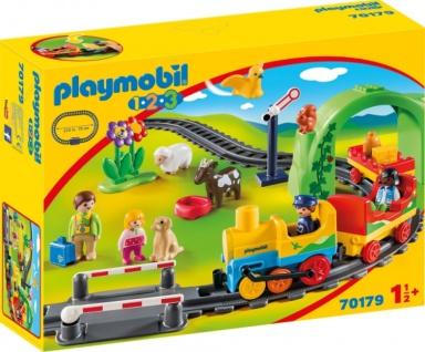 Playmobil 1 2 3 Meine Erste Eisenbahn Konstruktionsspiel 70179