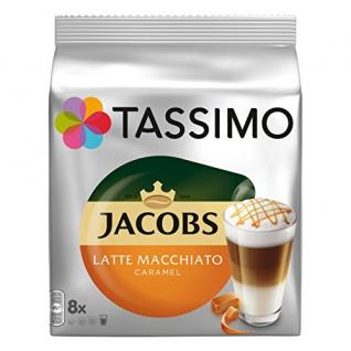 Tassimo Getränkekapsel Jacobs Latte Macchiato Caramel