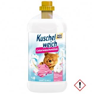 Kuschelweich Colorwaschmittel Sanft und Mild für 18 Waschladungen