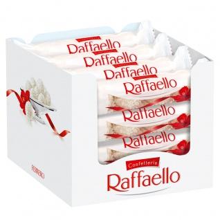 Raffaello Thekendisplay 4 Pralinen aus Kokos und Milchreme 16er Pack
