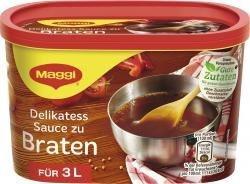 Maggi Delikatess Sauce zu Braten perfekte Sauce zu Fleisch 3L