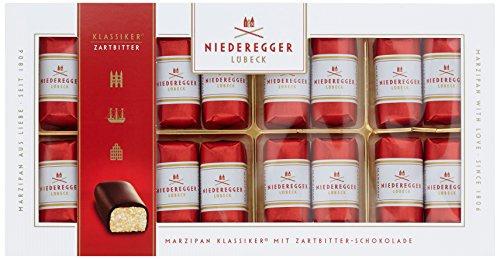 Niederegger Marzipan Klassiker umhüllt aus Zartbitter 71 Prozent 200 g