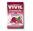 Vivil Creme life Classic Kirsch Geschmack Bonbons ohne Zucker 110g