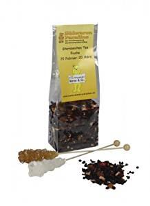 Sternzeichen Tee Fische mit Kandiszucker Erdbeer Sahne Tee 100g