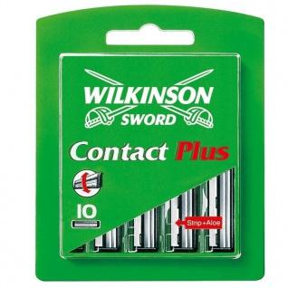 Wilkinson Sword Contact Plus Klingen 10 Stück in einer Packung