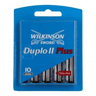 Wilkinson Sword Duplo II Plus Klingen 10 Stück in einer Packung