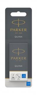 Tintenpatrone Parker Quink koenigsblau