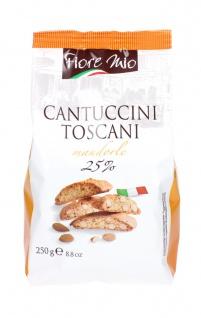Fiore Mio Cantuccini Toscani 25 Prozent Gebäck aus Mandeln 250 g - Vorschau