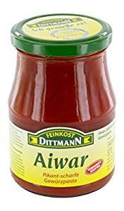 Feinkost Dittmann Aiwar Gewürzpaste pikant-scharf (340 ml)