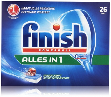 Finish Calgonit Alles in 1, Spülmaschinentabs, 26 Tabs