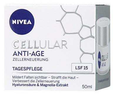 Nivea Cellular Anti-Age Tagespflege LSF15, 1er Pack (1 x 50ml)