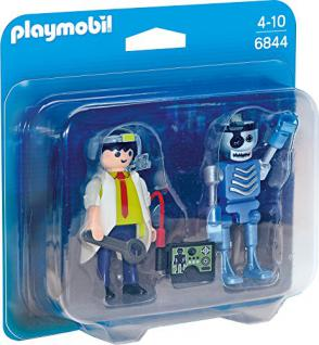 PLAYMOBIL 6844 - Duo Pack Professor und Roboter