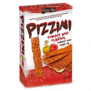 Fiore Mio Pizzini Knabbergebäck Stangen mit Tomate und Olivenöl 100g