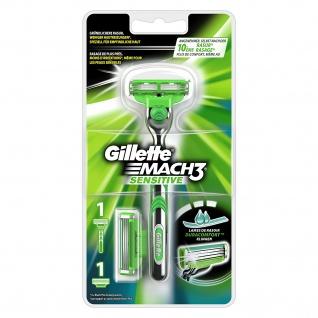 Gillette Mach3 Sens.Rasierer2Klingen