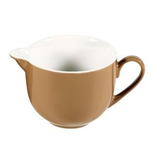 Milchgießer, Kännchen, 7 cm, Serie Doppio, nougat
