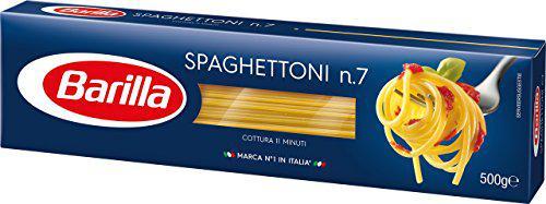 Barilla Spaghettoni n. 7, 8er Pack (8 x 500 g)