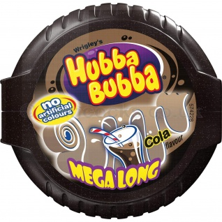 Hubba Bubba Bubble Cola Kaugummi Streifen mit Cola Geschmack 9er Pack