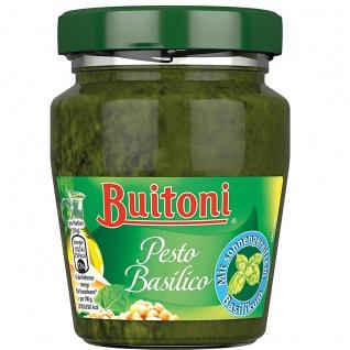 Buitoni Pesto Basilico mit besten sonnengereiftem Basilikum 150g