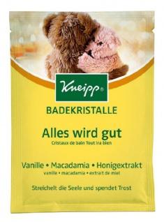 Kneipp Badekristalle mit Vanille Macadamia und Honigextrakt 60g