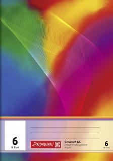 Schulheft DIN A5 FSC Lineatur 6