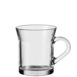Teeglas Kaffeeglas Teetasse Glastasse von Montana Serie JAVA 35cl
