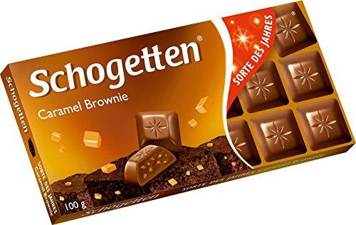 Schogetten Caramel Brownie, 100 g