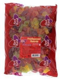 Red Band Fruchtgummi Mischung in Rauten Taler und Stäbchenform Assortie 3000g