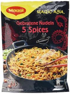 Maggi Magic Asia Gebratene Nudeln 5 Spices 2 Portionen 128g