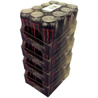 Monster Assault koffeinhaltiges Erfrischungsgetränk 500ml 48er Pack