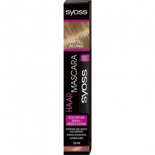 SYOSS Haar Mascara Coloration Mittelblond 16ml