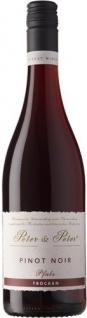 Peter und Peter Pinot Noir trocken weicher Geschmack fruchtig 750ml 6er Pack