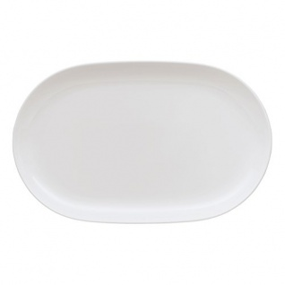 Arzberg Cucina Servier Platte Coupe Oval Basic White Porzellan 36 cm