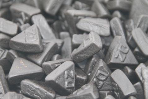 Doppelsalz Lakritz Dreiecke salziges Lakritz in Dreiecksform 1000g