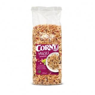 Corny Früchte Müsli mit vielen verschiedenen Früchten Vegan 1000g