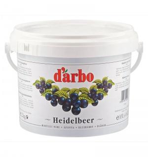 Darbo Heidelbeer Konfitüre Heidelbeer Fruchtaufstrich Eimer 2000g