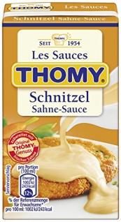 Thomy Les Sauces Schnitzel Sahne Sauce, 250 ml