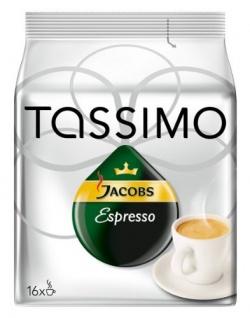 Tassimo Jacobs -Espresso Röstkaffee gemahlen in Kapseln 118g
