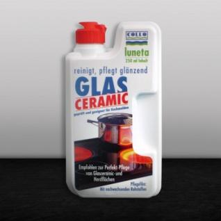 Luneta Glaskeramik-Reiniger Reinigung und Pflege für Glaskeramik 250ml