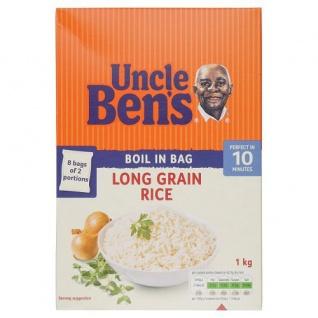 Uncle Bens 18 Minuten Reis Kochbeutel 1000g
