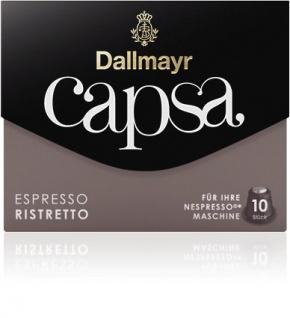Dallmayr Capsa Espresso Ristretto 10 Nespresso Kaffeekapseln 56g