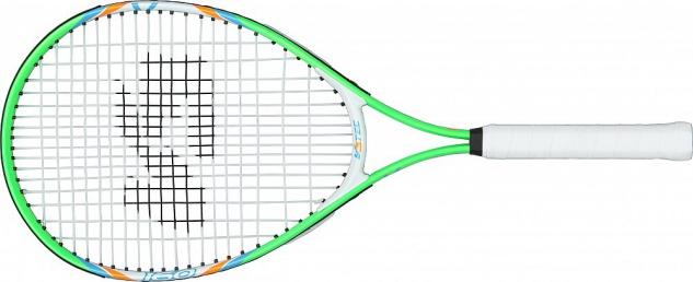 V3Tec Tennisschläger Junior 160 für Kinder Farbe weis und grün