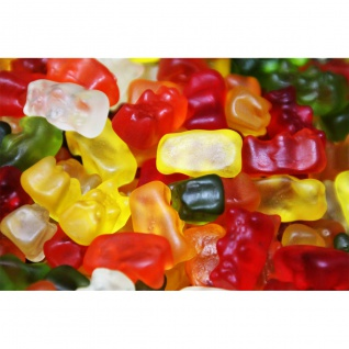 Haribo Goldbären in 6 verschiedenene Geschmacksrichtungen 1000g