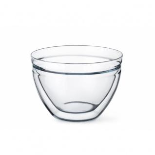 Simax Glasschüssel Glasschale Müslischale Kristallglas rund 0.6l