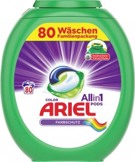 Ariel ALL-IN-1 Colorwaschmittel ALLin1 Pods Color 80WL