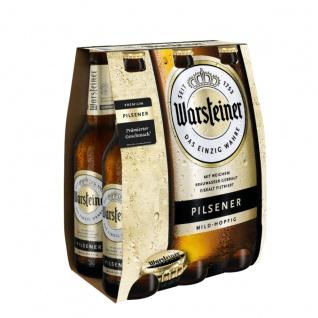 Warsteiner Premium Pilsener mild hopfig MW Sixpack 6 x 330ml