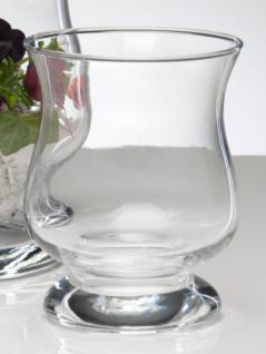 Windlicht HURRICANE Glas Vase Glasvase Kerzenglas 13 cm