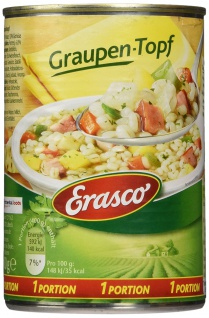 Erasco Graupen-Topf, 3er Pack (3 x 400 g)