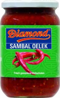 Diamond Sambal Oelek, sehr scharf, 2er Pack (2 x 750 g)
